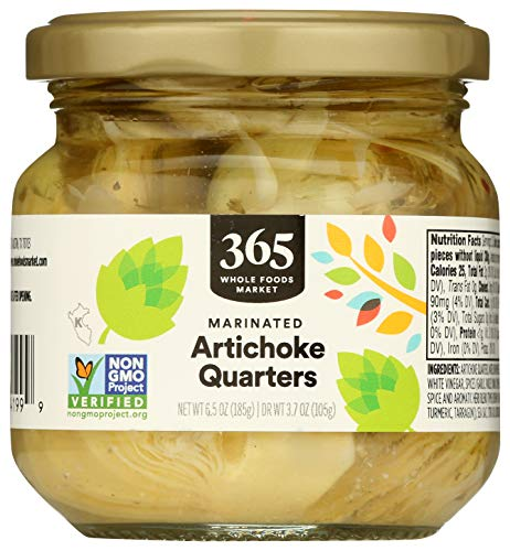 365 Everyday Value, Marinated Artichoke Quarters, 6.5 oz
