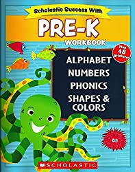 cheap Scholastic – PRE-K workbook with motivational stickers (Scholastic Success With)