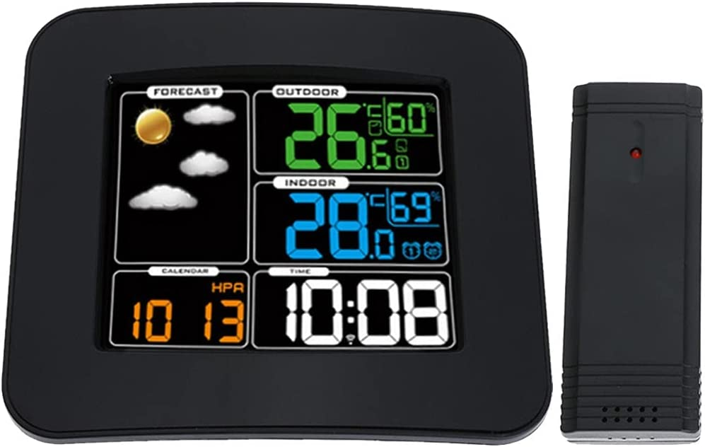 EastMetal Weather Station Multifunction 5 ☆ very popular Oklahoma City Mall W with Monitor