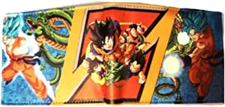 Touirch Short Anime Party Gift Dragon Ball Z Goku Symbol Wallet