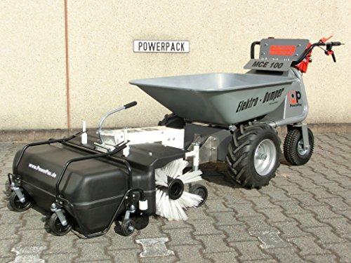 DAS ORIGINAL – MADE IN GERMANY – POWERPAC MCE400 mit 110ltr. Mulde – AKKUSCHUBKARRE ELEKTROSCHUBKARRE SCHUBKARRE DUMPER MOTORSCHUBKARRE - 7