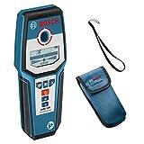 Bosch Professional Détecteur Numérique GMS 120 (1 Pile 9 V, Profondeur de Détection Maxi Acier/Cuivre/Câble Électriques Sous Tension : 120/80/50 mm, Housse de Protection)