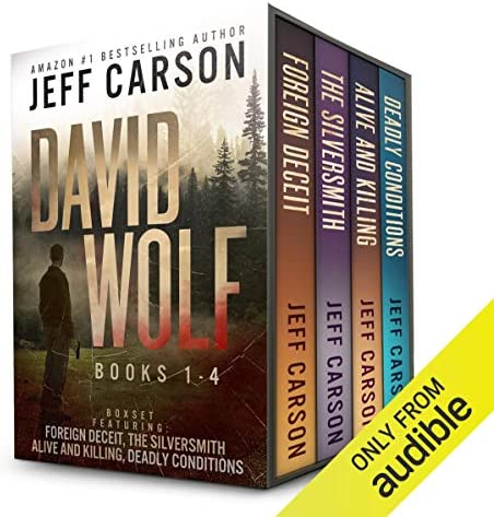 The David Wolf Mystery Thriller Series Books 1 4 product image
