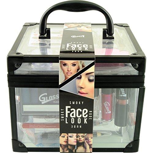 Gloss - caja de maquillaje, caja de regalo para mujeres - Malette maquillaje esencial