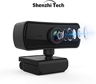 1080P Web Camera Full HD Webcam USB Computer Web Cam Built-in Noise Reduction Microphone for Computer PC Laptop Tab Confer...