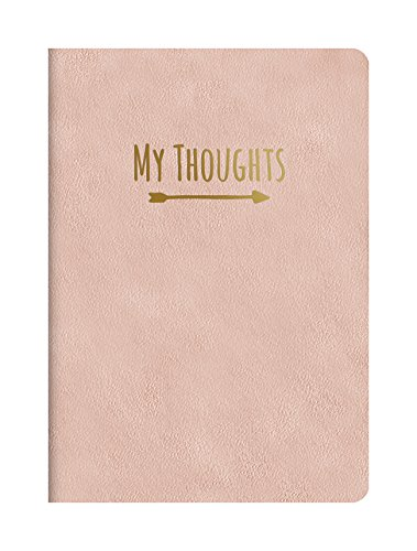 Studio Oh! Medium Leatheresque Journal, My Thoughts Practically Pink