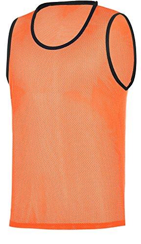 RHINOS sports Trainingsleibchen, Markierungshemd orange 128