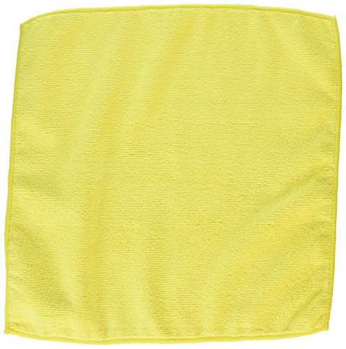 ALL RAGS MFMP12 Length X Width, Yellow, Microfiber 12 Wiping Cloth