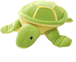 AIXINI Soft Plush Sea Turtle Giant Stuffed Marine Animal Tortoise Toys Doll (Green, 19.6 inch), Sleeping Hugging Pillow Cusion,Gift for Kids Baby Christmas