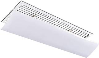 Aire Acondicionado Central montado en la Parte Superior Deflector de Viento del Aire Acondicionado Central de Pared, Deflector de Salida de Aire for el hogar/Oficina