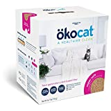 ökocat Super-Soft Natural Wood Clumping Cat Litter with Odor Control,...