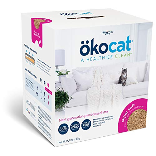 ökocat Super Soft Natural Wood Clumping Litter