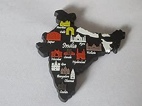 Memory Marg India Silicon Fridge Magnet (Black)