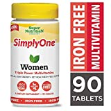 SuperNutrition SimplyOne Multi-Vitamin for Women, 90 Count