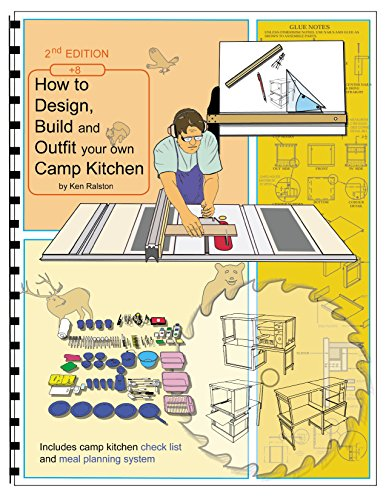 How to Design, Build and Outfit Your Own Camp Kitchen: Chuck Box Design and Construction Illustrated (English Edition)