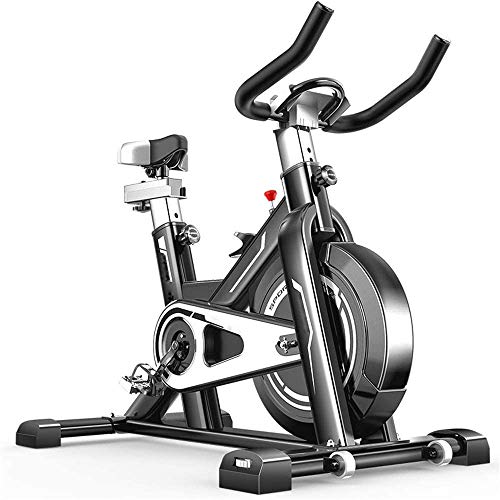 AJH Spinning Standard Cyclette Ultra-Silenzioso casa Coperta Perdita Pedale Attrezzature Fitness Peso Cyclette Indoor Cycling