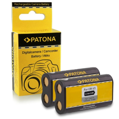 2x Batería CR-V3 para Kodak EasyShare C300   C310   C315   C330   C340   C360   C433   C503   C530   C533   C603   C633   C643   C653   C663   C703   C743   C875   CD33   CD40   CD43  CX4200   CX4210   CX4230   CX4300   CX4310   CX6200   CX6230   CX6330   CX6445   CX7220   CX7300   CX7310   CX7330 y mucho más…