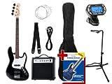 rocktile groovers kit jb basso elettrico set iii nero