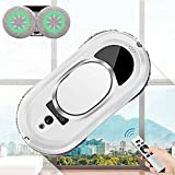 enjzp smart window cleaning robot with remote control and edge detection,for glass cleaning,vacuum