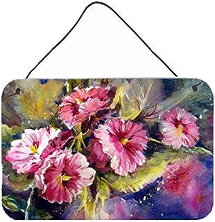 "Caroline's Treasures PJC1106DS812 April Showers Bring Spring Flowers Wall or Door Hanging Prints, 8 x 12"", Multicolor"