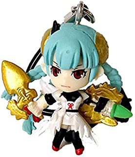 Puzzle & Dragons Ultimate Evolution Strap Figure 01 - Warrior Rose Graceful Valkyrie