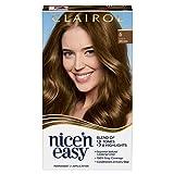 Clairol Nice'n Easy Permanent Hair Dye, 6 Light Brown Hair Color, 1 Count