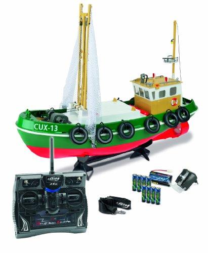Carson 500108014 – Bateau de pêche a4003cux-13, 100% RTR, 2.4 GHz