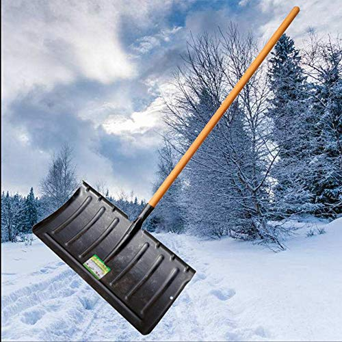 Why Choose ZXWNB Large Snow Removal Shovel All-Steel Thickening Snowboard Agricultural Iron Shovel P...