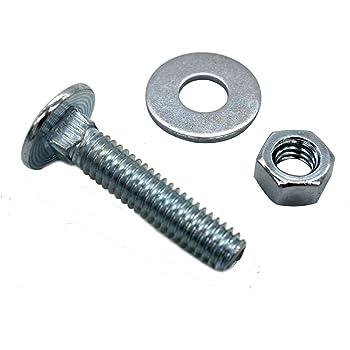 "100 PC1//4/"" Lock WashersZinc Plated Steel"