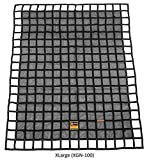 Gladiator Cargo Nets - Heavy Duty Truck Cargo Net - Extra Large (XGN-100) 10' x 12' ft.