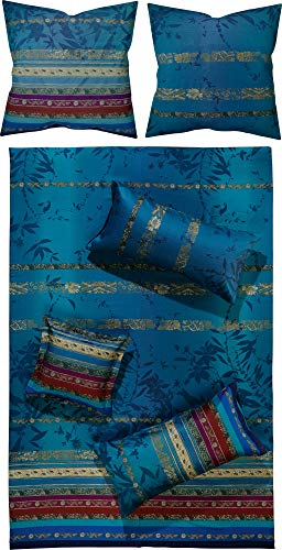 Bassetti Bettwäsche Malve B1 Blau 135 x 200 cm