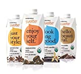 CalNaturale Svelte Organic Protein Shake, Variety Pack, 15.9 Ounce (Pack of 12)
