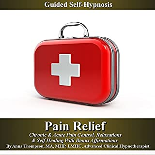 Pain Relief Guided Self Hypnosis cover art