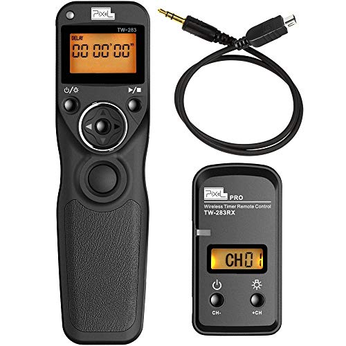 Pixel DSLR Camera Wireless Shutter Release Timer Remote Control TW-283/DC2 for Nikon D3100 D3200 D3300 D5000 D5100 D5200 D5300 D5500 D90 D7000 D7100 D7200 D600 D610 D750