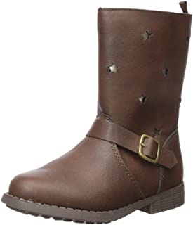 Girls' Tamiko Fashion Boot, Brown, 10 M US Toddler