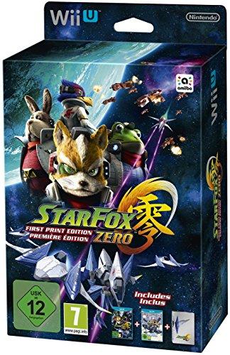 Star Fox Zero First Print Edition inkl. Star Fox Zero Guard - [Wii U]