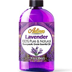GUARANTEED HIGHEST QUALITY, MOST POTENT LAVENDER OIL - What sets Artizen Essential Oils apart are their unparalleled purity and concentration. Natural, with no adulterants or dilution, their oils provide the maximum benefit possible and are uncomprom...