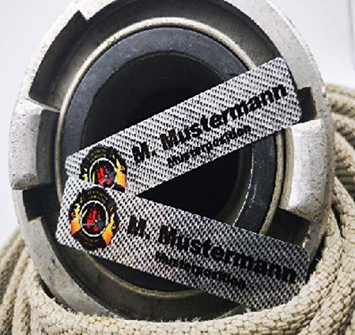 Namensschild Metall für die Uniform
