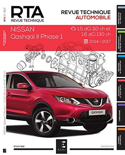E.T.A.I - Revue Technique Automobile 822 - NISSAN QASHQAI II - 2014 à ce jour