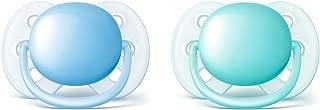 Philips Avent SCF213/20 2 件超软奶嘴 Blue/Teal 0-6 个月