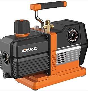 NAVAC NRP6DV Mechanical Vacuum Pump, 6 CFM