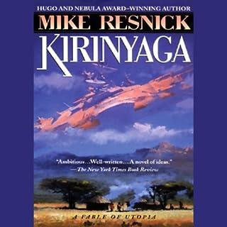 Kirinyaga audiobook cover art