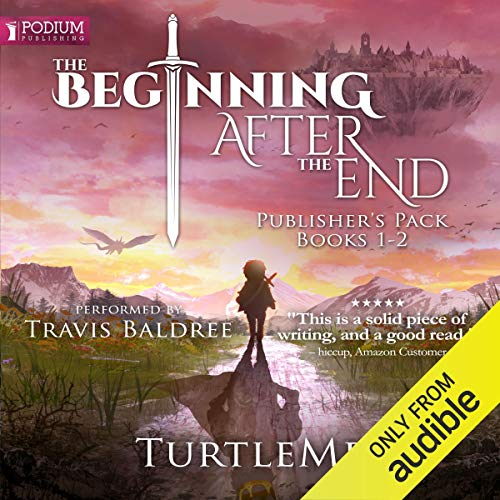 Page de couverture de The Beginning After the End: Publisher's Pack