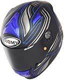 Suomy kssr0007.5Casco Moto, Azul, L