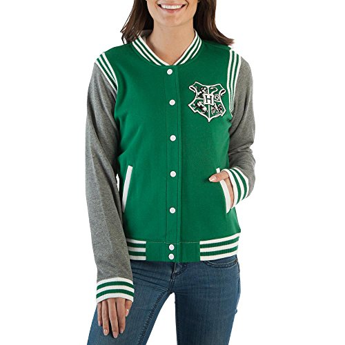 Harry Potter Juniors Slytherin Quidditch Jacket (Large)