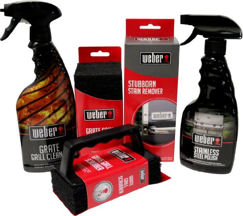 Weber Grill Cleaning Kit - Grill Spray...