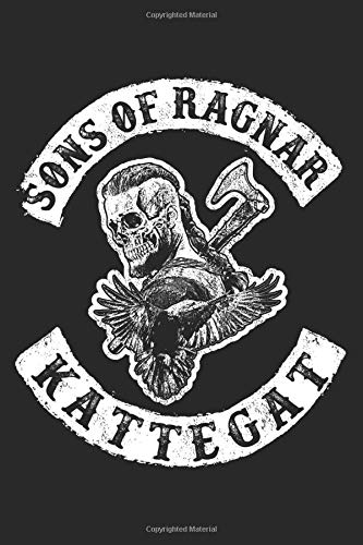Sons of Ragnar - Notebook: Ragnar Lothbrok Viking Notebook or Journal
