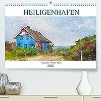 Heiligenhafen in Aquarell (Premium, hochwertiger DIN A2 Wandkalender 2022, Kunstdruck in Hochglanz): Landschaftsaquarelle (Monatskalender, 14 Seiten )