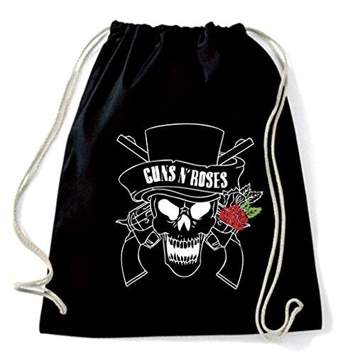 Art T-shirt, mochila bolsa Guns N