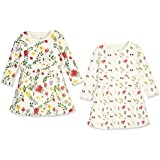 Zanie Kids Baby Girl's Long Sleeves Dress...
